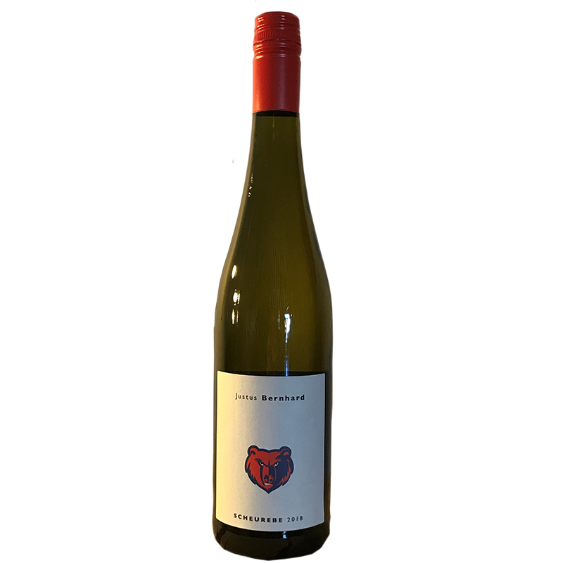 Scheurebe, Qualitätswein trocken, Hackenheimer Kirchberg, Rheinhessen 2019