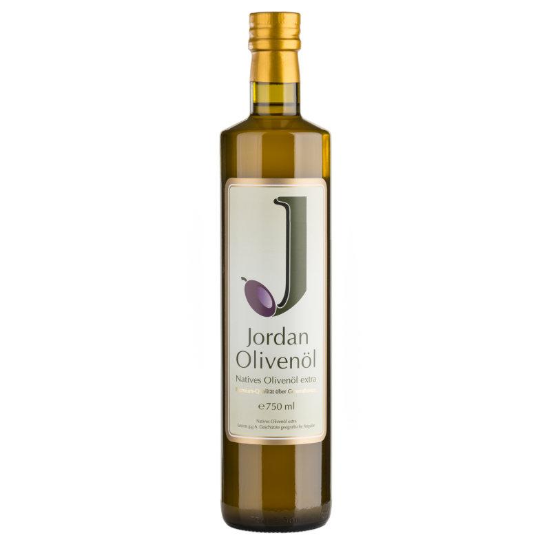 Jordan Olivenöl - Natives Olivenöl Extra - Flasche 0,75 Liter